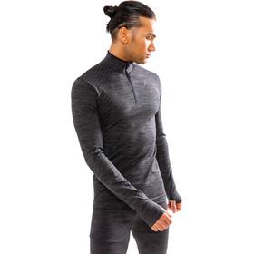 Craft Fuseknit Comfort Zip Shirt Herren black melange